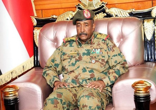 رئيس المجلس العسكري السوداني في مصر