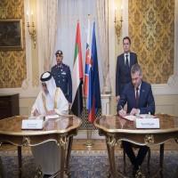 سلوفاكيا تستقبل المصابين من جنود الإمارات المشاركين في اليمن للعلاج