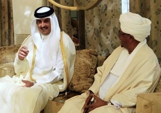 أمير قطر يتصل بالبشير ويؤكد حرصه على استقرار السودان