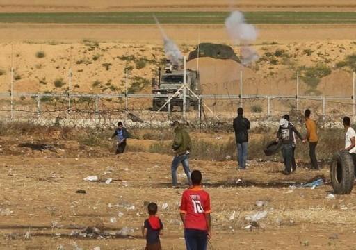 شهيد و30 جريحا فلسطينيا برصاص الاحتلال شرقي قطاع غزة