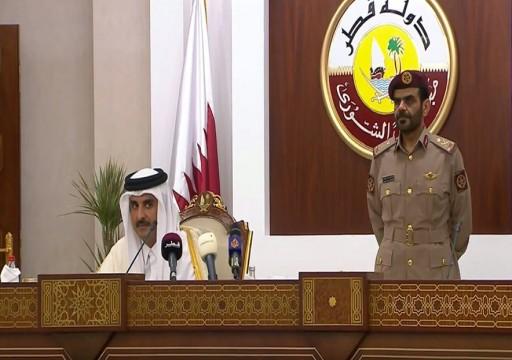 أمير قطر: مجلس التعاون عاجز ولا حل عسكري للأزمة اليمنية
