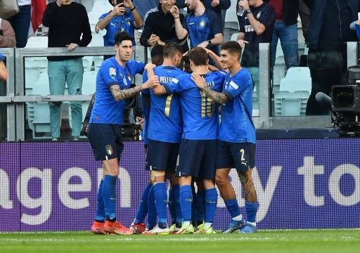 إيطاليا تتغلب على بلجيكا وتحقق المركز الثالث في دوري الأمم الأوروبية