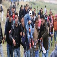 غزة.. شهيد وإصابات في مسيرة العودة وكسر الحصار