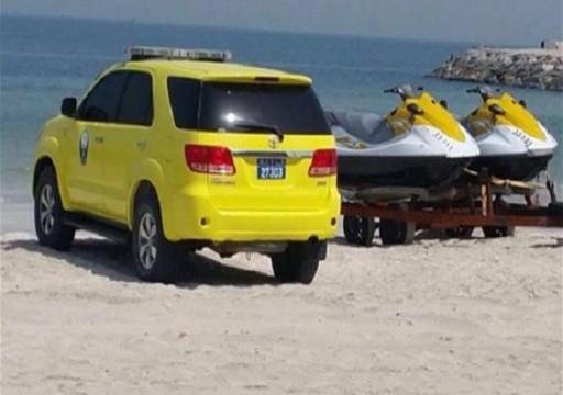 وفاة شخصين وإنقاذ اثنين من الغرق في عجمان