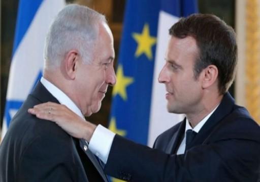 توتر بين باريس وتل أبيب بسبب تجميد نقل أموال الضرائب