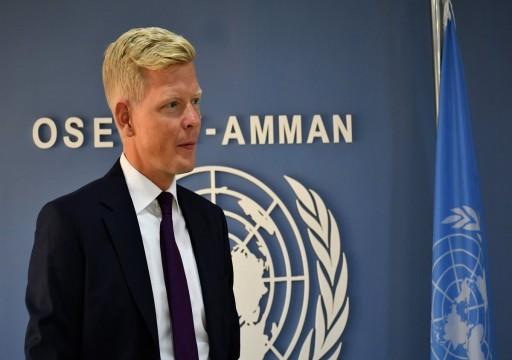المبعوث الأممي إلى اليمن يطالب أطراف الصراع بالدخول في مفاوضات دون شروط
