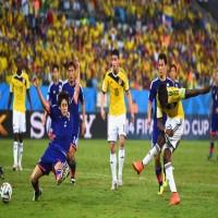 اليابان تنتزع انتصارًا غاليًا من كولومبيا في المونديال