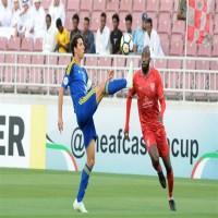 الوحدة يودع البطولة الآسيوية بعد خسارته من الدحيل القطري