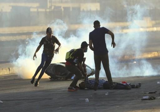العفو الدولية: مقذوفات فتاكة تستخدم في قتل متظاهري العراق