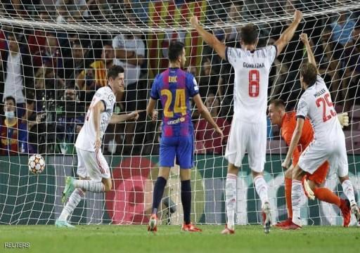بايرن ميونخ يؤكد تفوقه على برشلونة بثلاثية نظيفة بدوري الأبطال