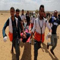 شهيدان برصاص قوات الاحتلال الإسرائيلي شمالي غزة