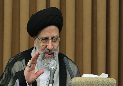 الرئيس الإيراني يأمل في تنمية العلاقات الثنائية مع الإمارات