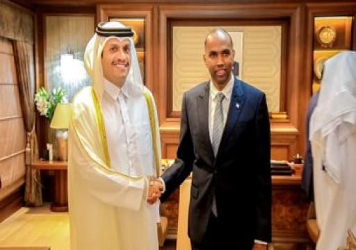 وزير خارجية قطر يصل الصومال في زيارة رسمية