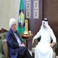 الزياني يلتقي غريفث لبحث جهود عملية السلام واستئناف المفاوضات باليمن