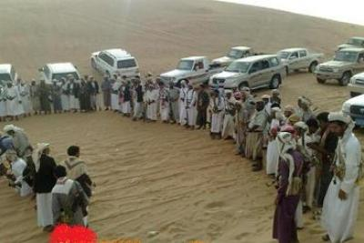قبائل مأرب اليمنية تتوعد بصد الحوثيين وتعلن دعمها للرئيس