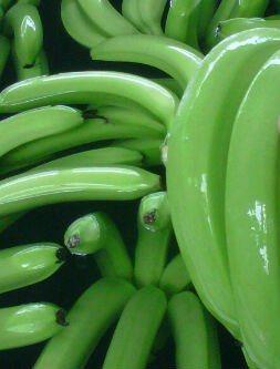 تناول الموز الأخضر ينقص من وزن الجسم