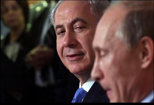 نتانياهو وبوتين يبحثان التنسيق العسكري في سوريا