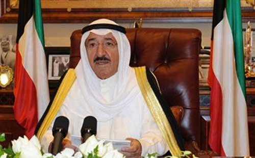 أمير الكويت النيران المشتعلة من حولنا تكاد أن تصلنا