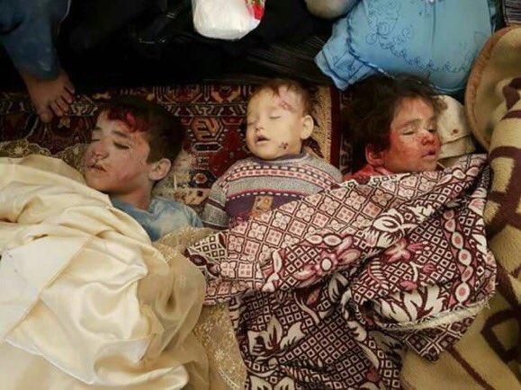 وحشية بوتين.. مقتل 9 أطفال وامرأة في قصف روسي بريف إدلب