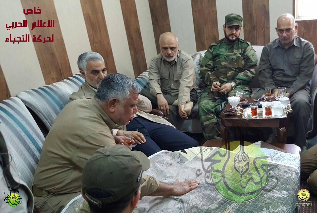بعد مقتلة لجنوده في حلب.. سليماني يقود معركة الفلوجة الطائفية