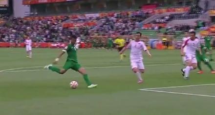 السعودية تتغلب على كوريا الشمالية 4-1