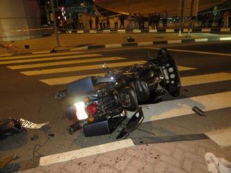 وفاة شخص إثر حادث تصادم بالشارقة