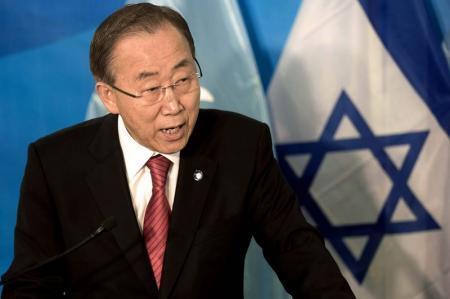 بان كي مون يطالب إسرائيل بالتخلي عن خطط استيطانية في القدس