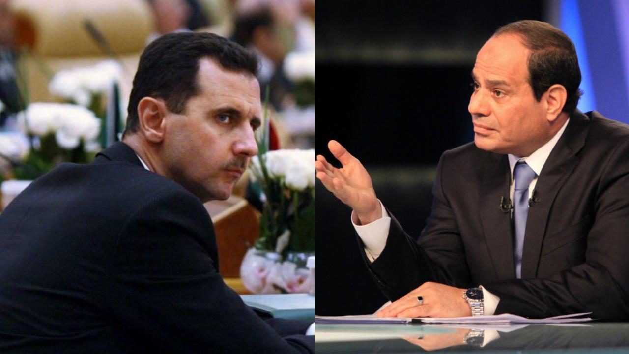 مصادر قريبة من حزب الله تتوقع قمة بين الأسد والسيسي قريبا