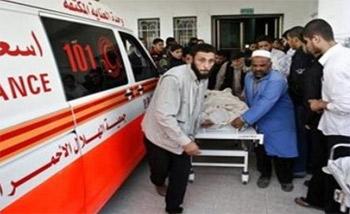 إصابة 10 فلسطينيين في غارات إسرائيلية على قطاع غزة