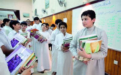 40 طالبا بلا كتب في مدرسة للتعليم الأساسي في دبي
