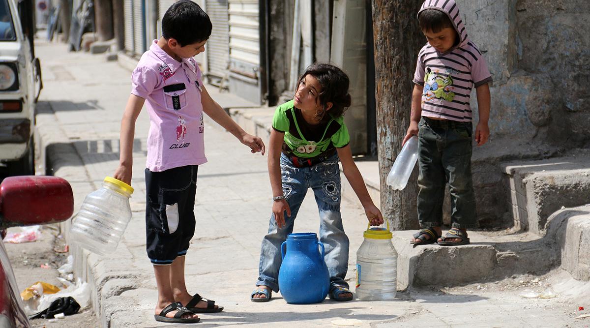 الأمم المتحدة: أكثر من 1.5 مليون سوري في حلب بدون مياه