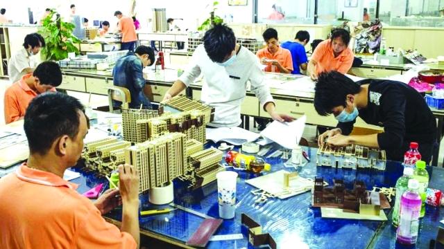 الإمارات تنعش سوق  الماكيت  العقاري الصيني