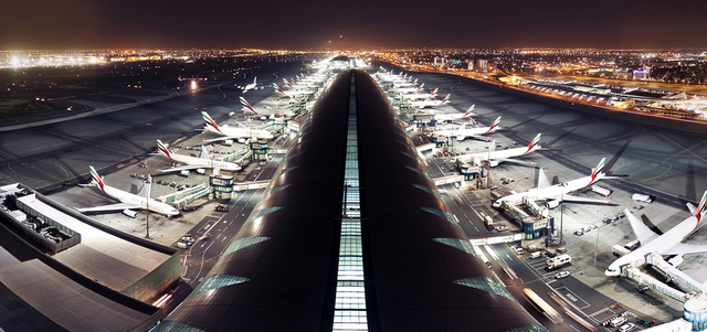 أول  مقطع فيديو بزاوية 360 درجة بدقة 8K على  يوتيوب  لمطار دبي