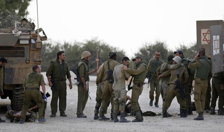 ارتفاع خسائر الاحتلال بعد إصابة 26 من جنوده منذ فجر اليوم