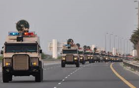 قائد درع الجزيرة يلتقي رئيس الأركان البحريني في المنامة