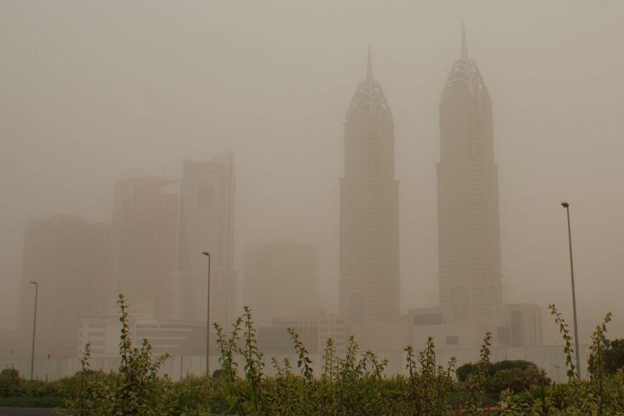 الأرصاد يحذر من كتلة هوائية محملة بالغبار وأمطار خفيفة على البلاد
