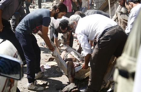 النظام السوري يلقي 400 برميل متفجر على داريّا خلال 50 يوما
