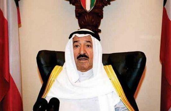 أمير الكويت: يدعو المجتمع الدولي التحرك لوقف العدوان على غزة