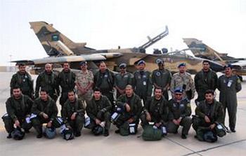 وصول المقاتلات الخليجية المشاركة بتمرين صقر الجزيرة العاشر في الكويت