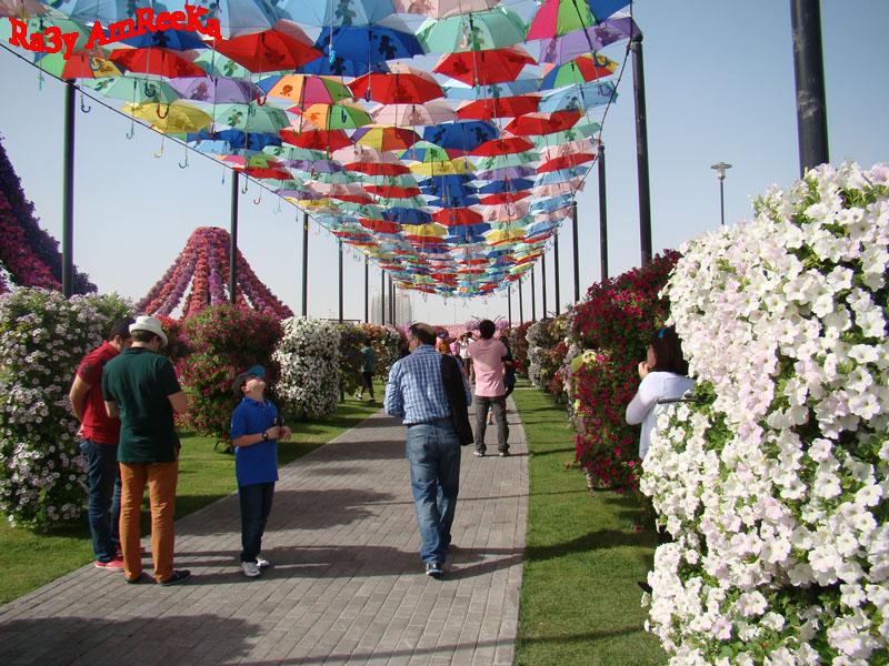 200 الف زائر لحدائق دبي خلال إجازة العيد