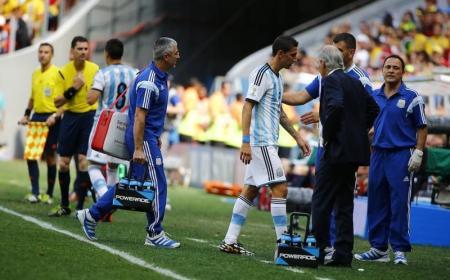 دي ماريا الأرجنتيني يخصع لفحص بالأشعة بعد إصابته فخذه
