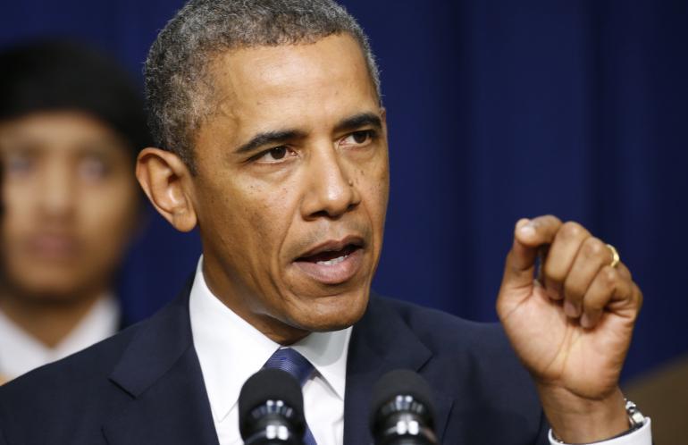أوباما يؤيد التظاهر ضد قرارات ترامب للدفاع عن الديمقراطية