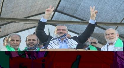 استطلاع: شعبية حماس بعد العدوان تحطم الأرقام القياسية