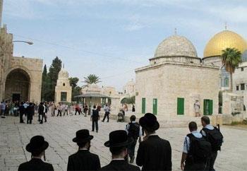 تحذيرات من تحرّكات يهودية جادة لبناء الهيكل المزعوم على أنقاض الأقصى
