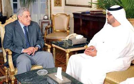 الوزير الجابر يقّّدم المستثمرين لرئيس الوزراء المصري
