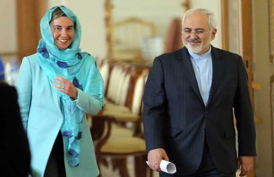 إيران والاتحاد الأوروبي يؤكدان فتح صفحة جديدة في العلاقات بينهما