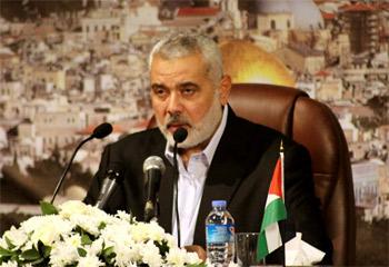 هنية: الاحتلال ألغى اتفاق التهدئة والمقاومة تسعى لرفع الحصار