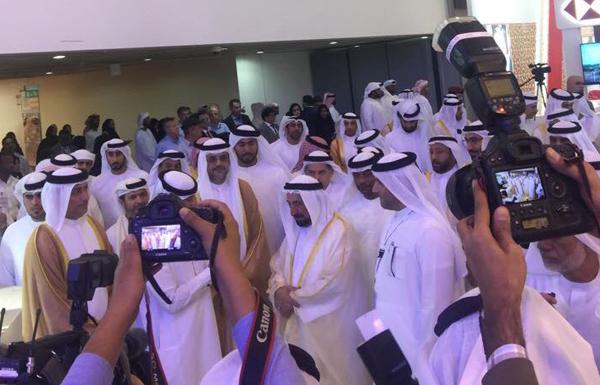 حاكم الشارقة يفتتح المعرض الوطني للتوظيف