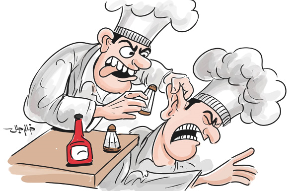 طباخ يلتهم أذن زميله في دبي