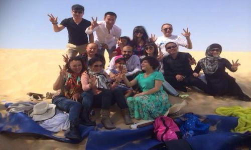 محمد بن راشد : العصف الذهني في الصحراء إيجابي